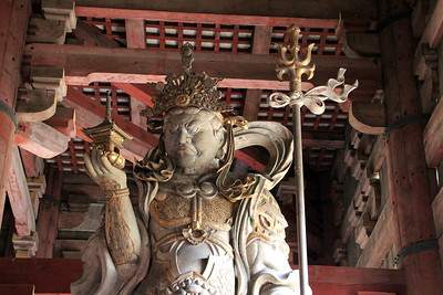 Statue in the Todaiji Temple
